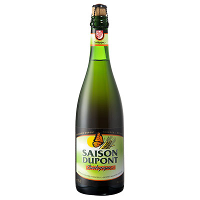 5410702000812 Saison Dupont Bio - 75cl Bottle conditioned organic beer (control BE-BIO-01)